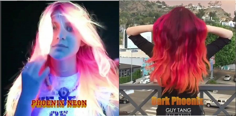 Hair glow in the dark di Guy Tang