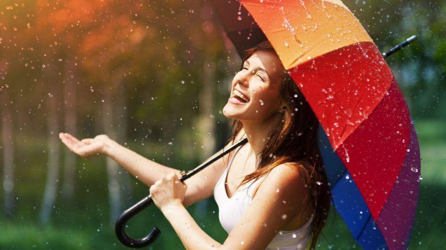 ...ed imparerò anche a sorridere, nonostante sia un giorno di pioggia...