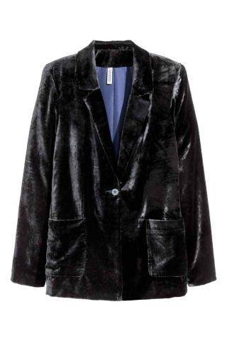 Blazer in velluto H&M €27,99