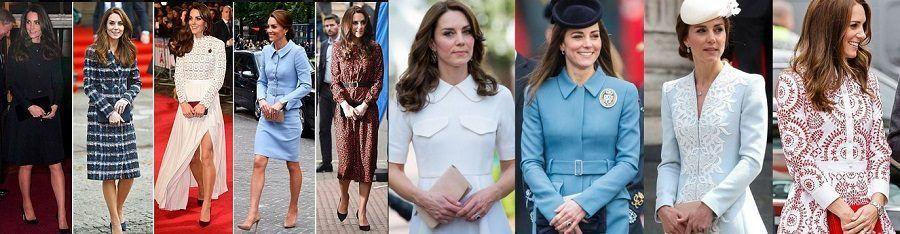 La collezione di clutch di Kate Middleton