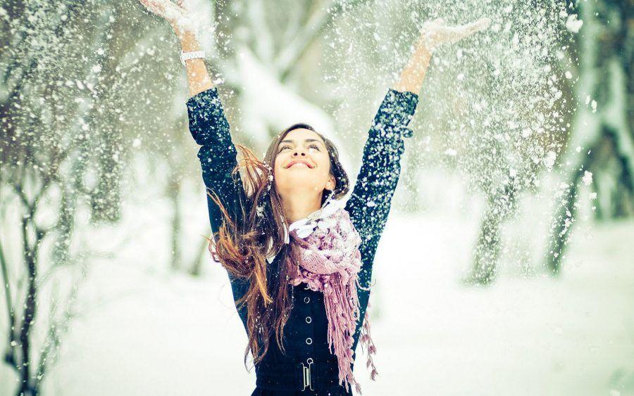 bella come una giornata di neve in cui non devi prendere l'auto