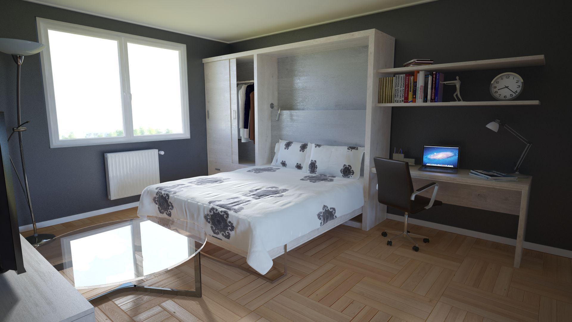 Come arredare una camera da letto piccola le idee - Idromassaggio in camera da letto bari ...