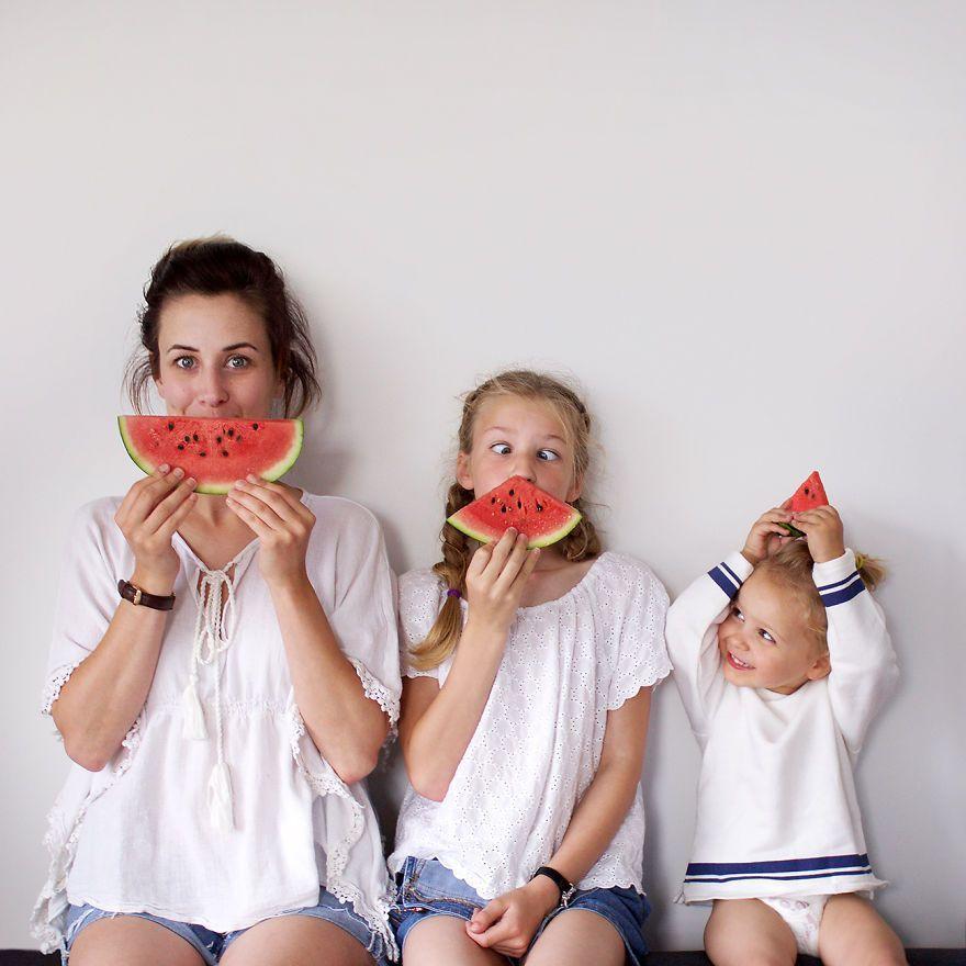 mamma bambine foto3