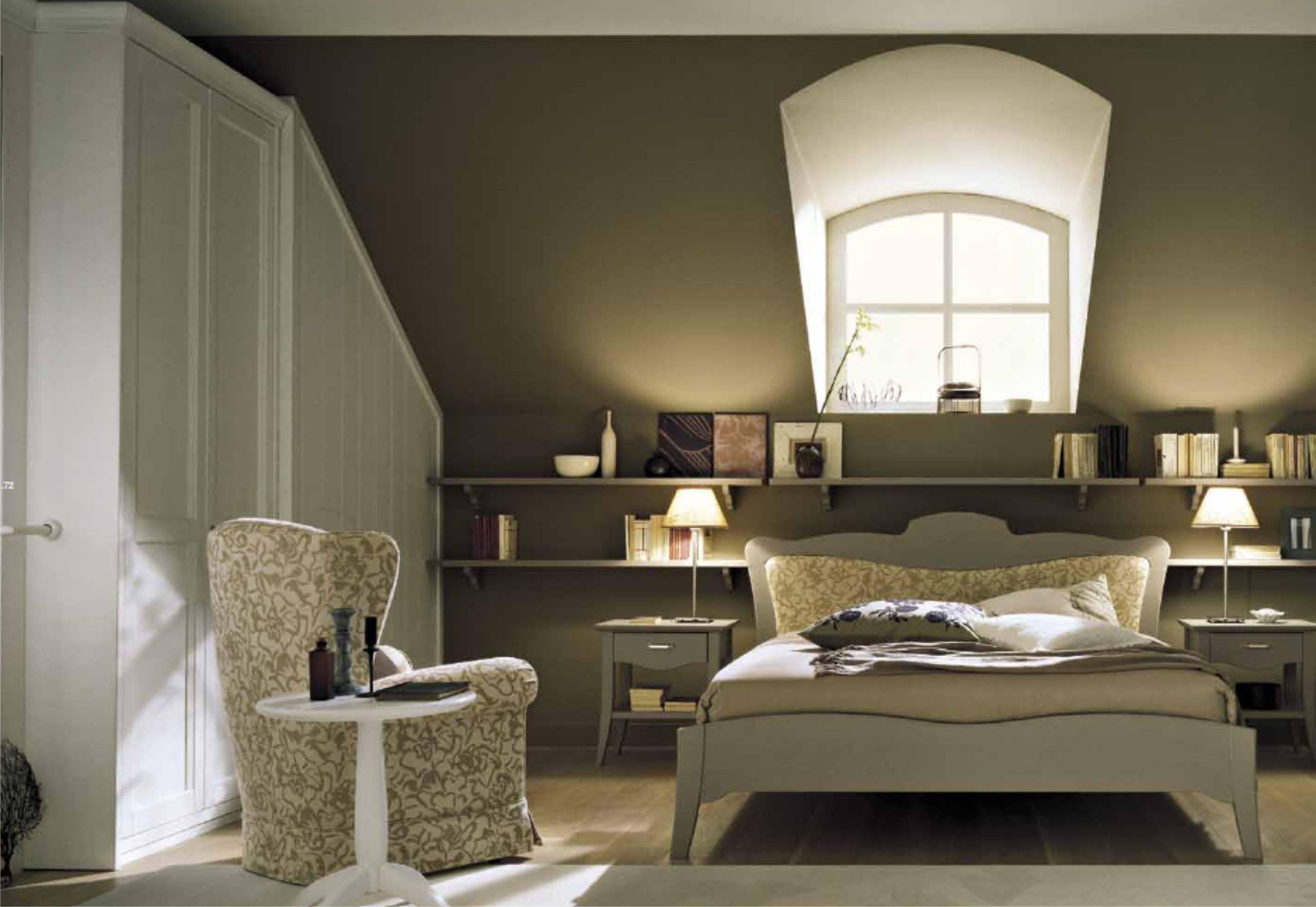 Come arredare una camera da letto piccola le idee for Mensola sopra letto