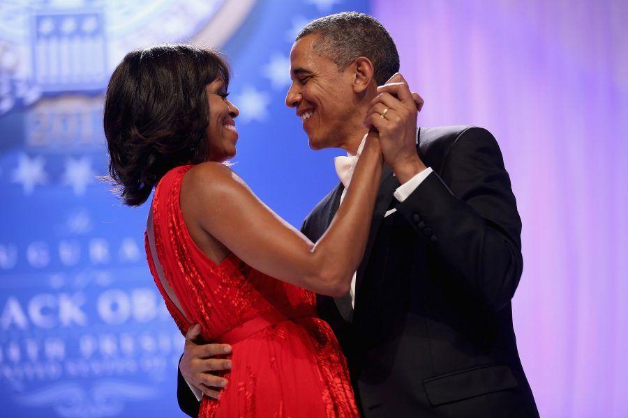Michelle e la complicità con il marito Barack Obama