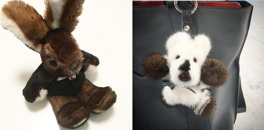 Questi peluche sono fatti di pelliccia vera e possono costare fino a 1800 euro