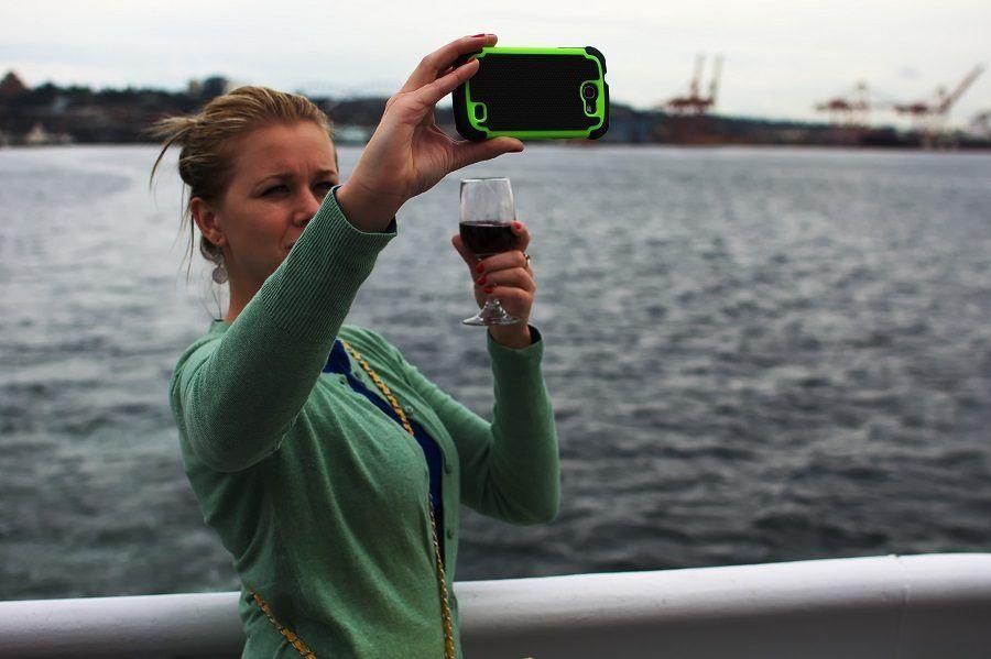 Era un momento così memorabile da richiedere un selfie?