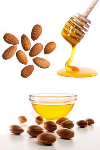 Scrub con mandorle, olio di argan e miele