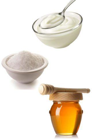 Scrub delicato con yogurt, zucchero e miele