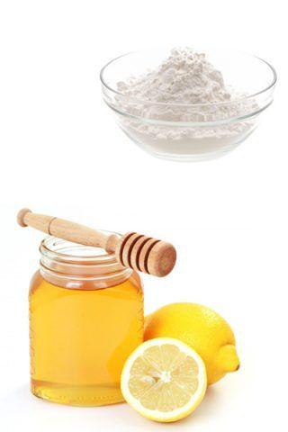 Scrub a base di bicarbonato e miele