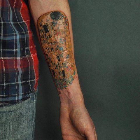 Tatuaggi ispirati a famosi dipinti: Gustav Klimt