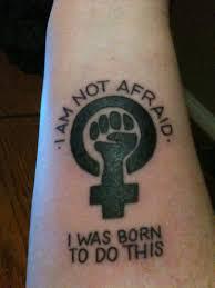 Tatuaggi femministi, Io non ho paura