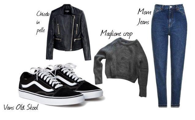 3 capi essenziali da indossare con le Vans per un look anni '90