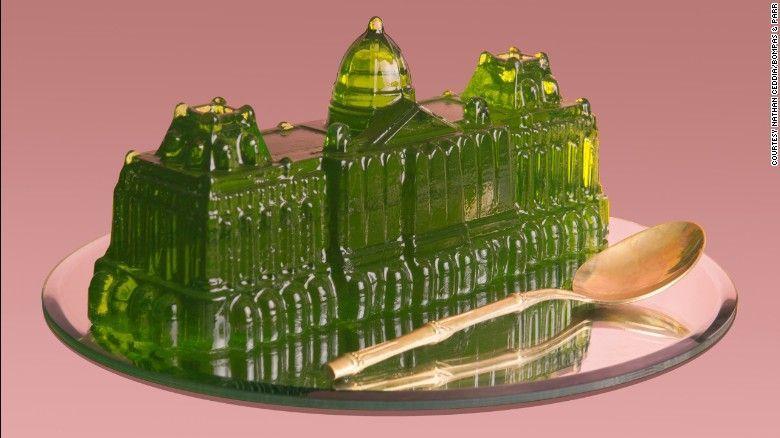 Buckingham palace di gelatina