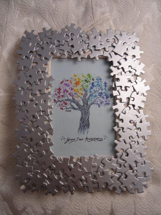 Cornice con puzzle