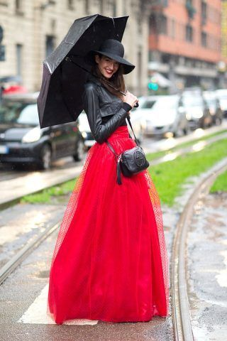 Super fashion con maxi skirt in tulle