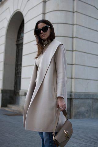 Dolcevita e cappotto midi - Dal blog Fashion Vibe