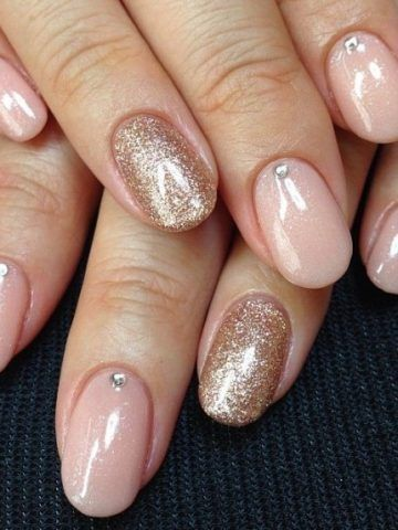 Manicure rosa