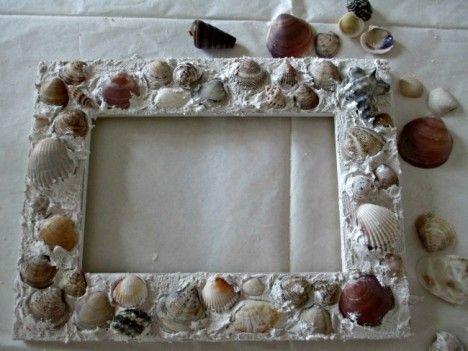 Idee creative per realizzare le cornici da foto bigodino - Gioco specchio da decorare ...