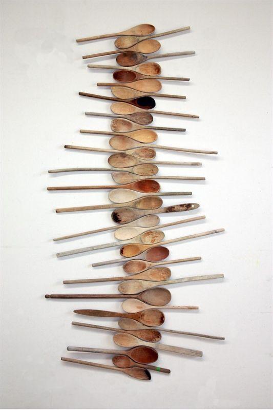 Arte a forma di cucchiaio