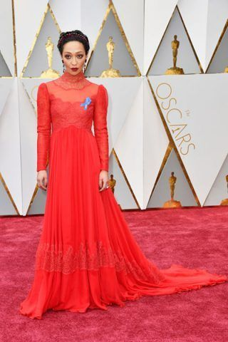 Ruth Negga in Valentino Haute Couture