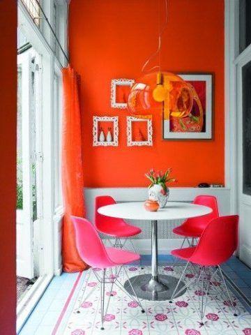 Arancio e rosa?