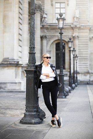 Look black&white - Dal blog Victoria Tornegren