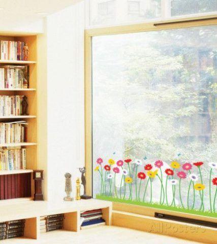 I fiori sul vetro