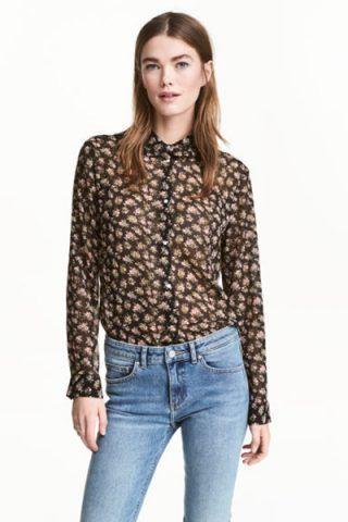 Camicia di chiffon (19,99 €)