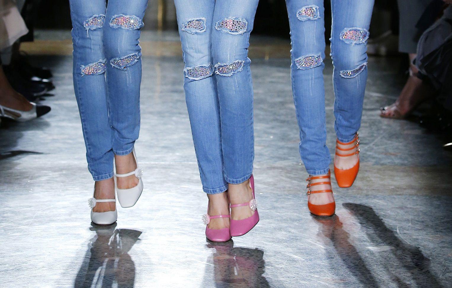 Le scarpe più belle viste a Milano Moda Donna