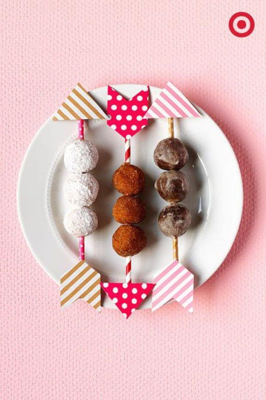 Frecce dolci aromatizzate al cacao e cocco