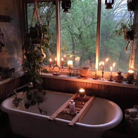 Un bagno caldo
