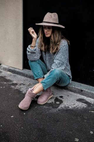 Jeans + maxi maglione