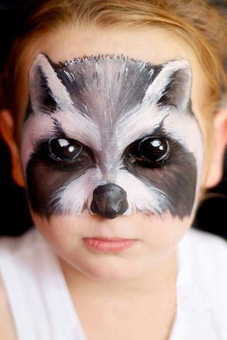 Tante idee make up per truccare i bambini a Carnevale ... Raccoon Eyes Makeup Crying