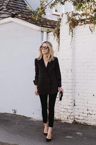 Look total black - Dal blog Damsel In Dior