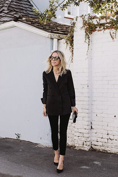 Look total black - Dal blog Damsel In Dior