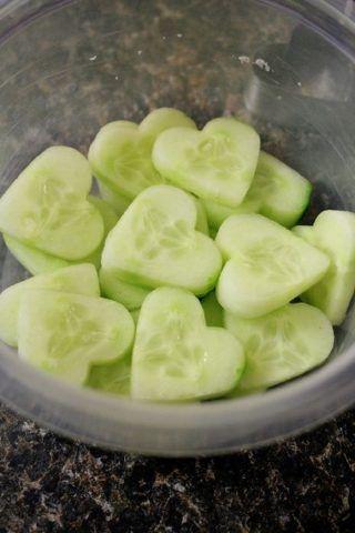 Cuori di cetriolo