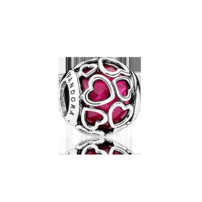 Charm Apri il Tuo Cuore Rosso Ciliegia €59 Pandora