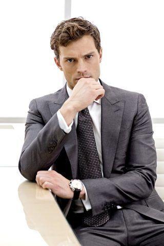 Jamie Dornan nei panni di Mr.Grey in Cinquanta sfumature di grigio