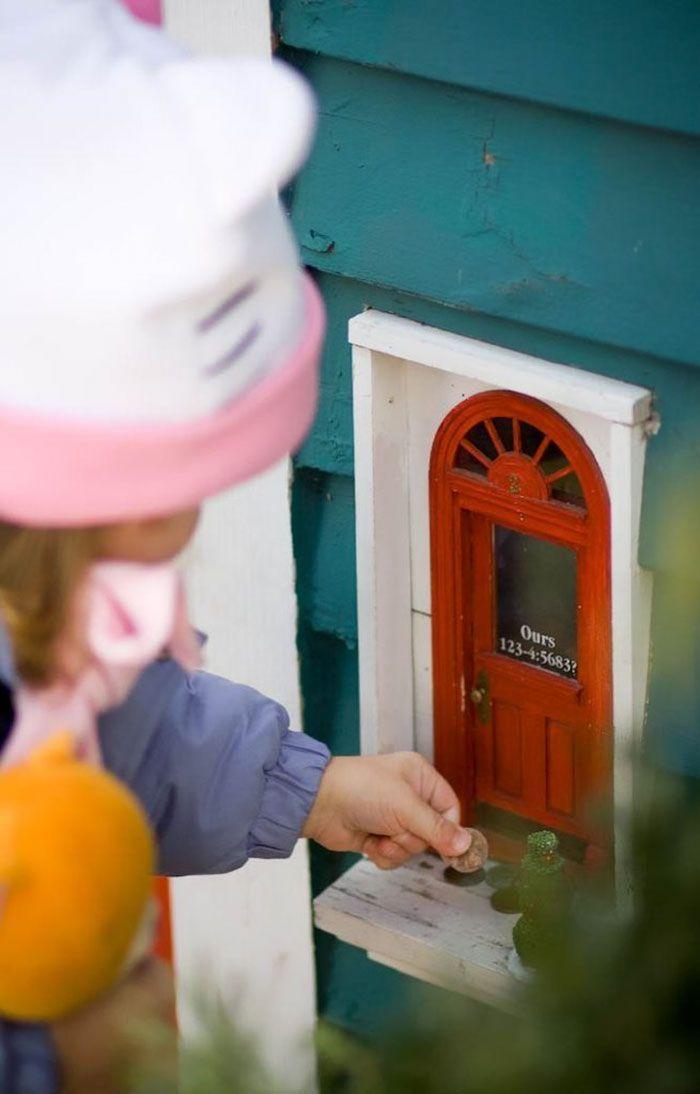 Le porte misteriose piacciono ai bimbi