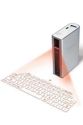 Tastiera virtuale con caricabatterie di Oregon Scientific (89,99 €)