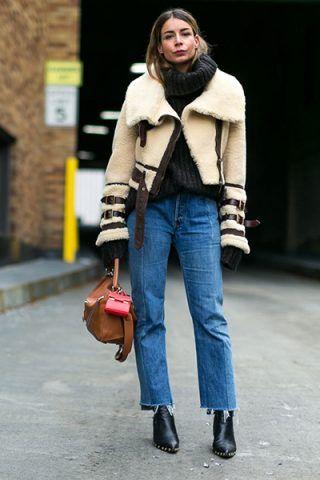 Montone e jeans