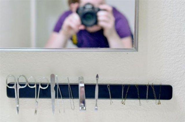Un magnete come porta oggetti