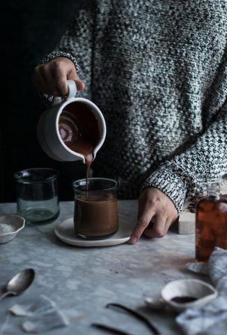 Una cioccolata calda