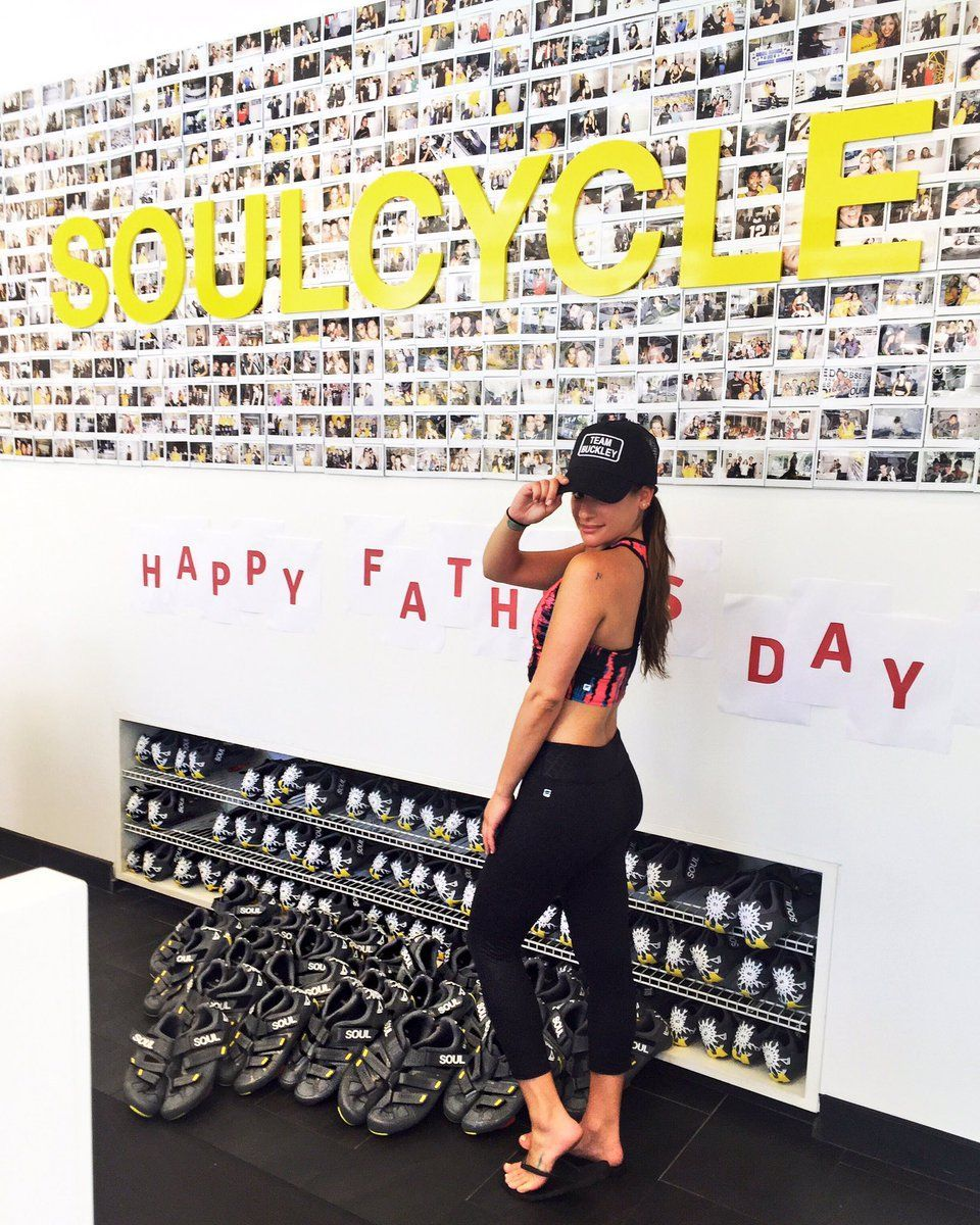 Lea Michele al SoulCycle