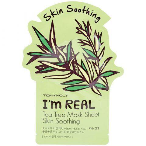 Tony Moly - Tea Tree Mask sheet Skin Soothing