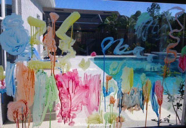 Pittura per vetro