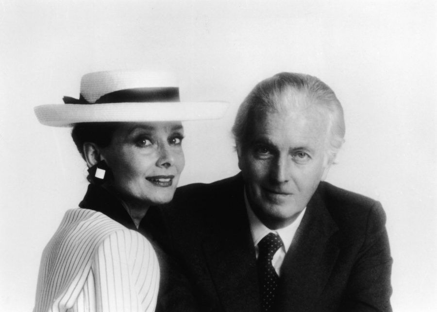 Audrey Hepburn e Hubert de Givenchy
