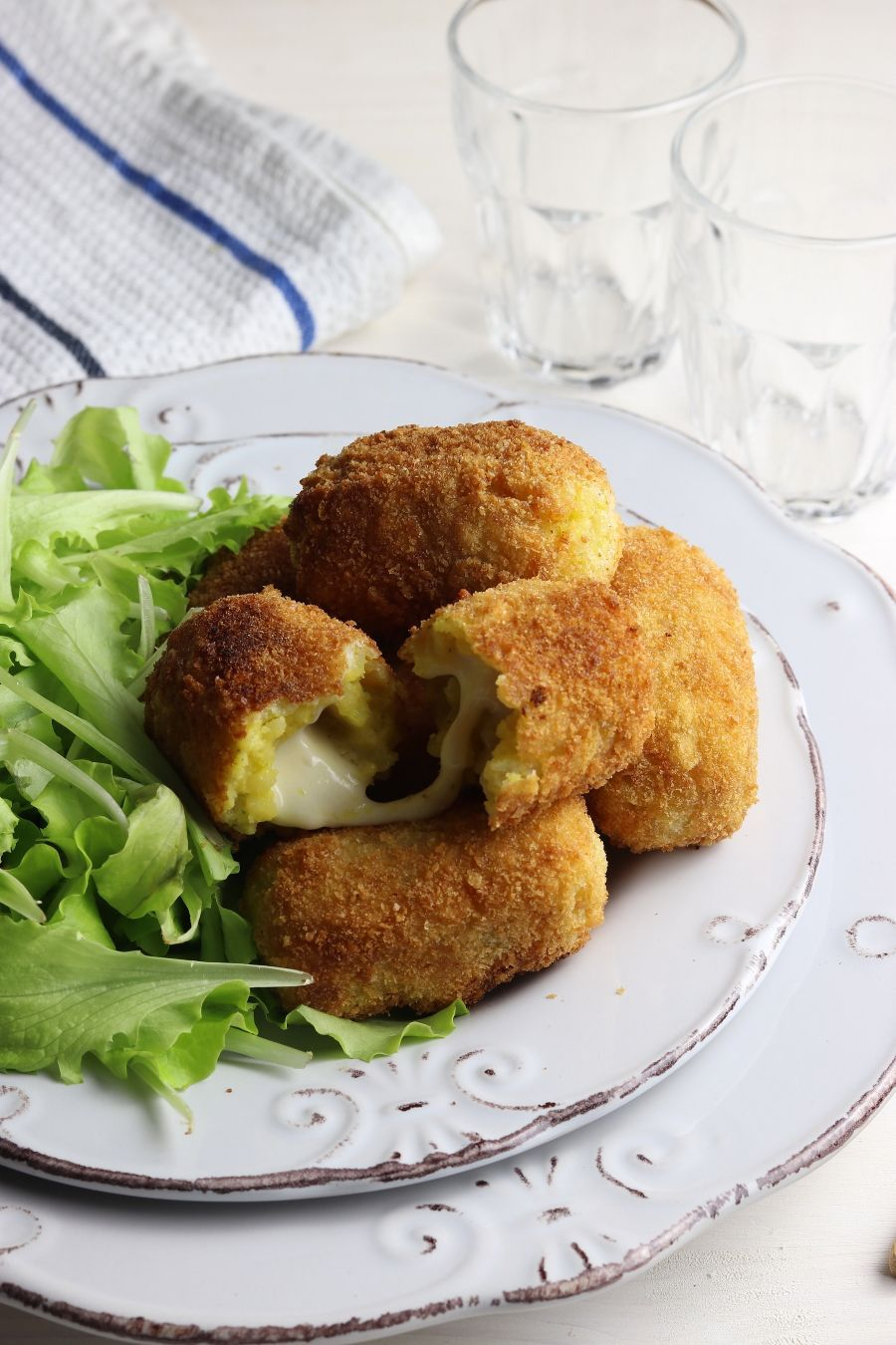 Crocchè di patate alla napoletana