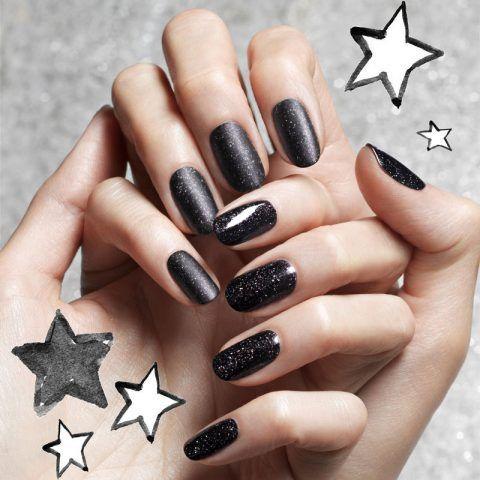Manicure nera